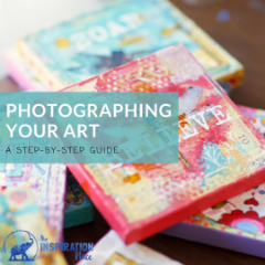 Photographing Your Art (a step by step guide)
