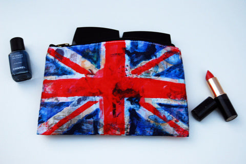 Union Jack Cosmetic Bag