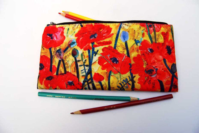 Anticipation Poppies Pencil Case