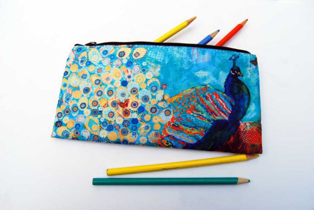 Paparazzi Peacock Pencil Case