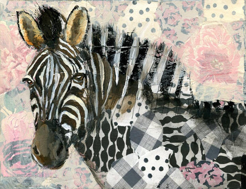 Custom Fine Art Print, Zebra - Born to Be Wild
