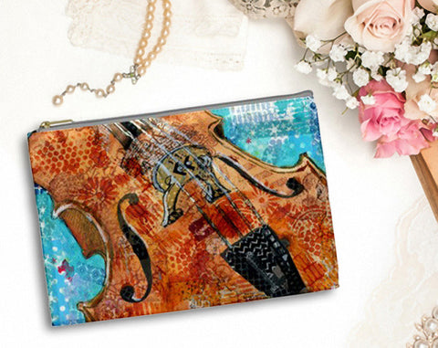 Cello Charm Bag