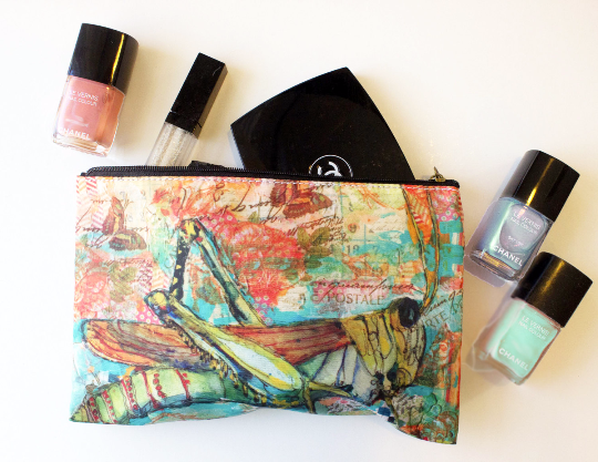 Summer Day Cosmetic Bag