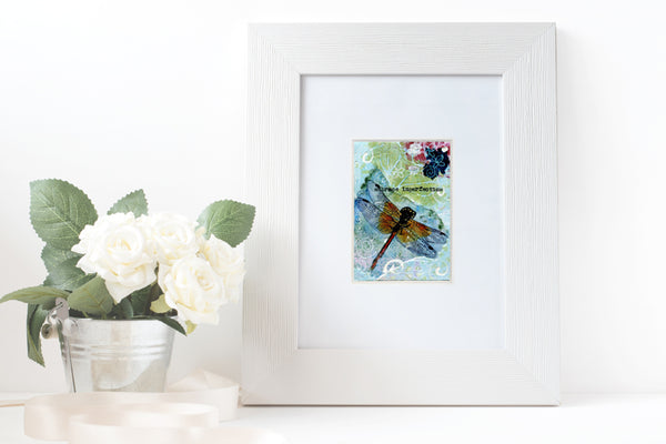 "#08 Dragonfly ""Embrace Imperfections"" 
