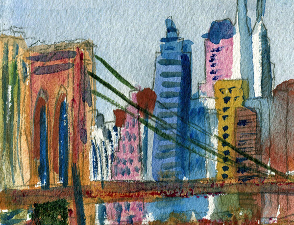 Brooklyn Bridge, Fine Art Print