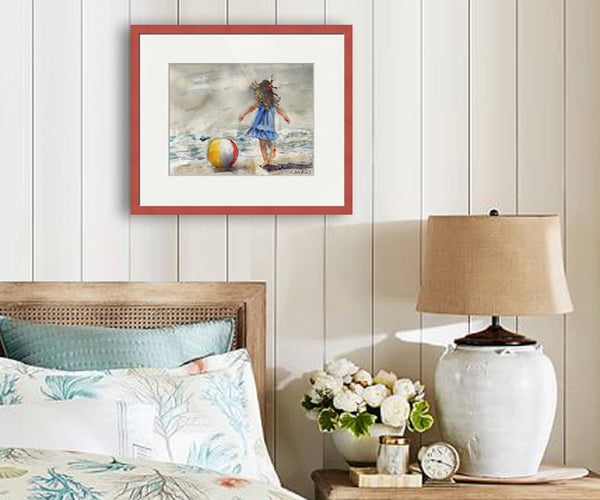 Beach Ball, Fine Art Print