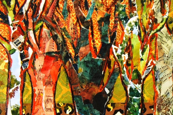 Funky Forest, Fine Art Print