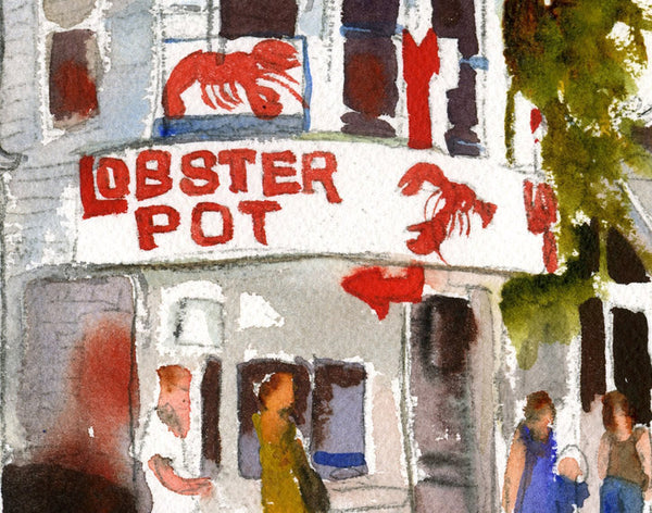The Lobster Pot, Fine Art Print