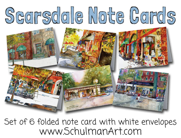 Scarsdale Village Note Cards