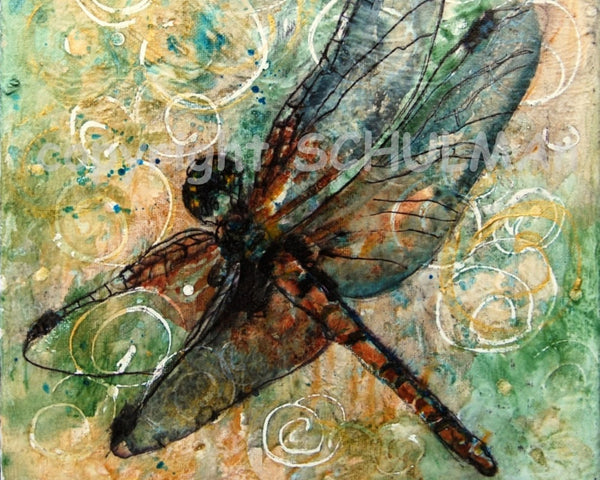 Dragonfly Dance, Fine Art Print
