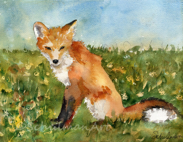 Fox Meadow, Fine Art Print