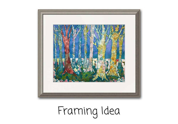 Tree Tapestry, Fine Art Print