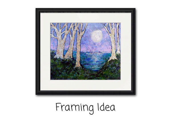 Moonlight Sonata, Fine Art Print