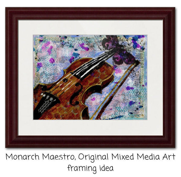 Monarch Maestro, Fine Art Print