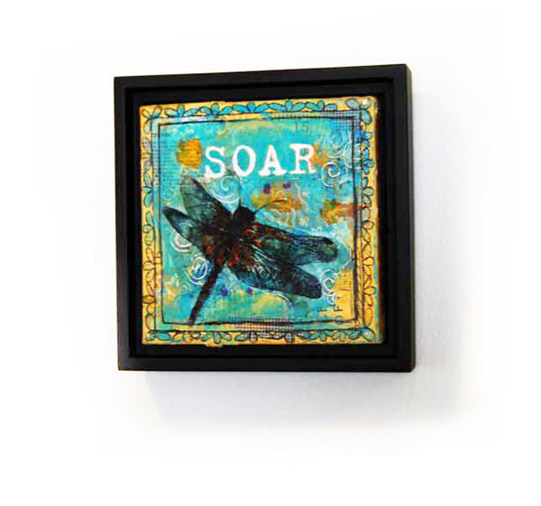 Soar, Original Mixed Media Art