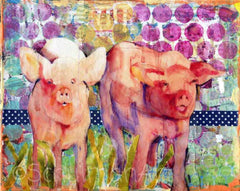 Little Piggies, Fine Art Print