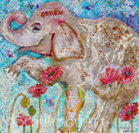 Elephant Dreams, Fine Art Print