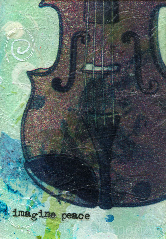 "#13 Violin ""Imagine Peace"" 