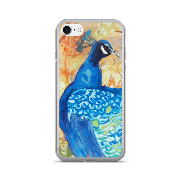Peacock pre-dawn iPhone 7/7 Plus Case
