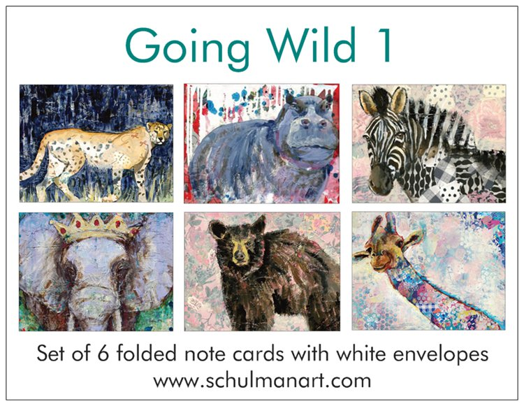 Going Wild Note Cards PRE-ORDER