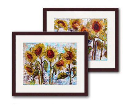 Sultry Sunflower Fine Art Prints