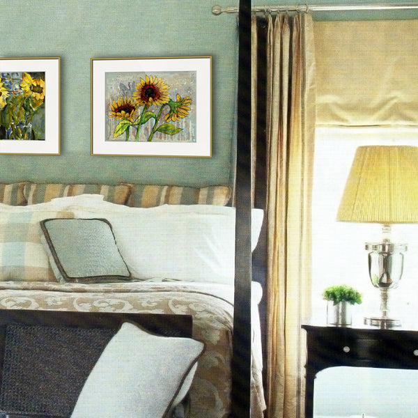 Sunflower Garden, Fine Art Print of the Month (Limited Edition)