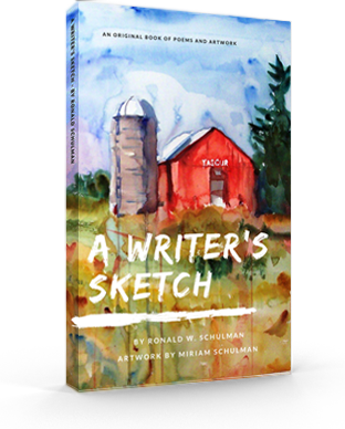 A Writer's Sketch - Paperback Edition SIGNED by the author!