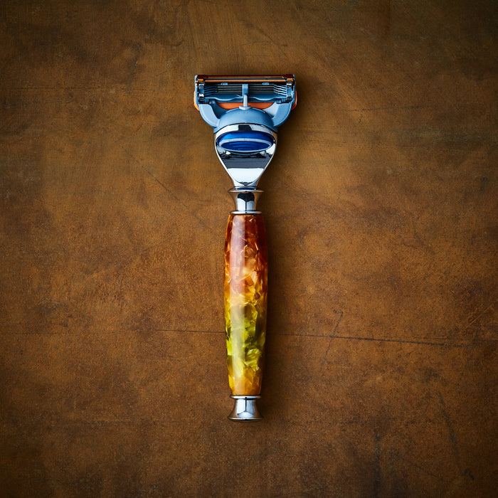 Custom shaving handmade razor for Gillette Fusion