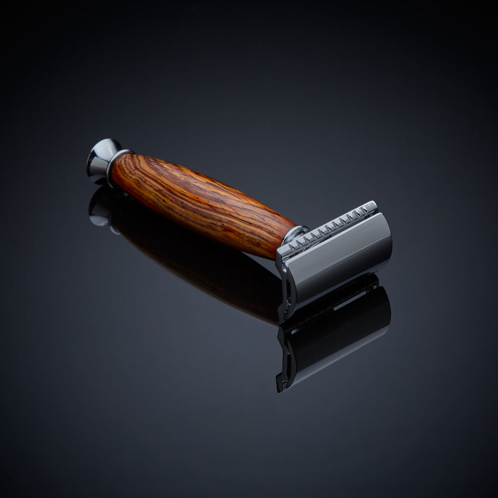 Safety razor wood razor
