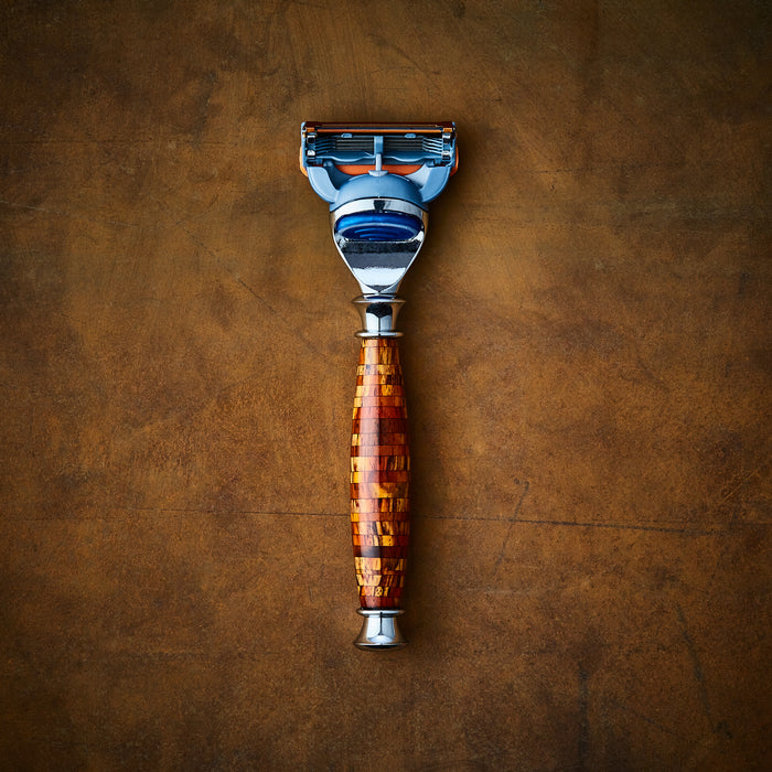 Mosiac razor for Gillette Fusion by Imperium Shaving