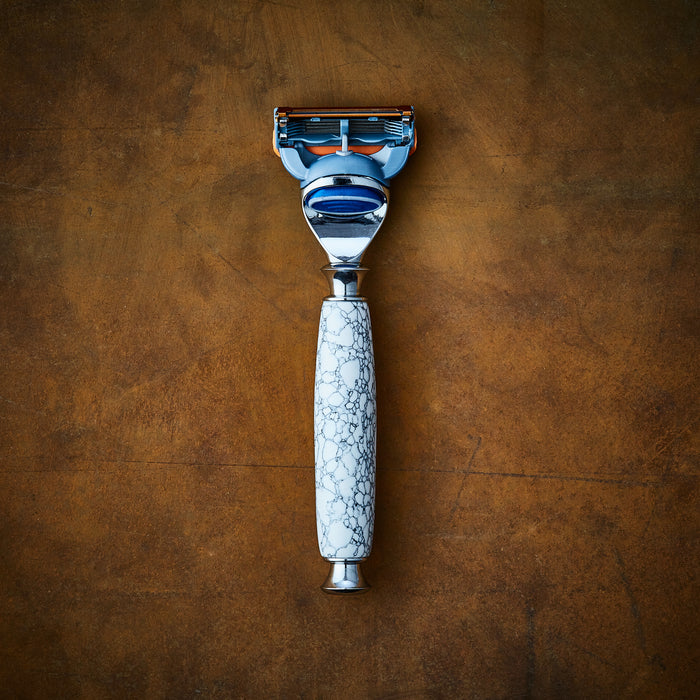 marble razor for gillette Imperium shaving wetshaving