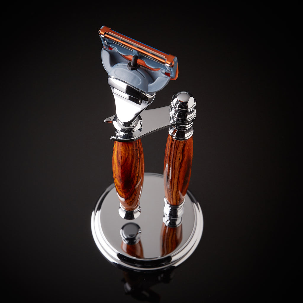Rosewood shaving kit for Gillette Fusion