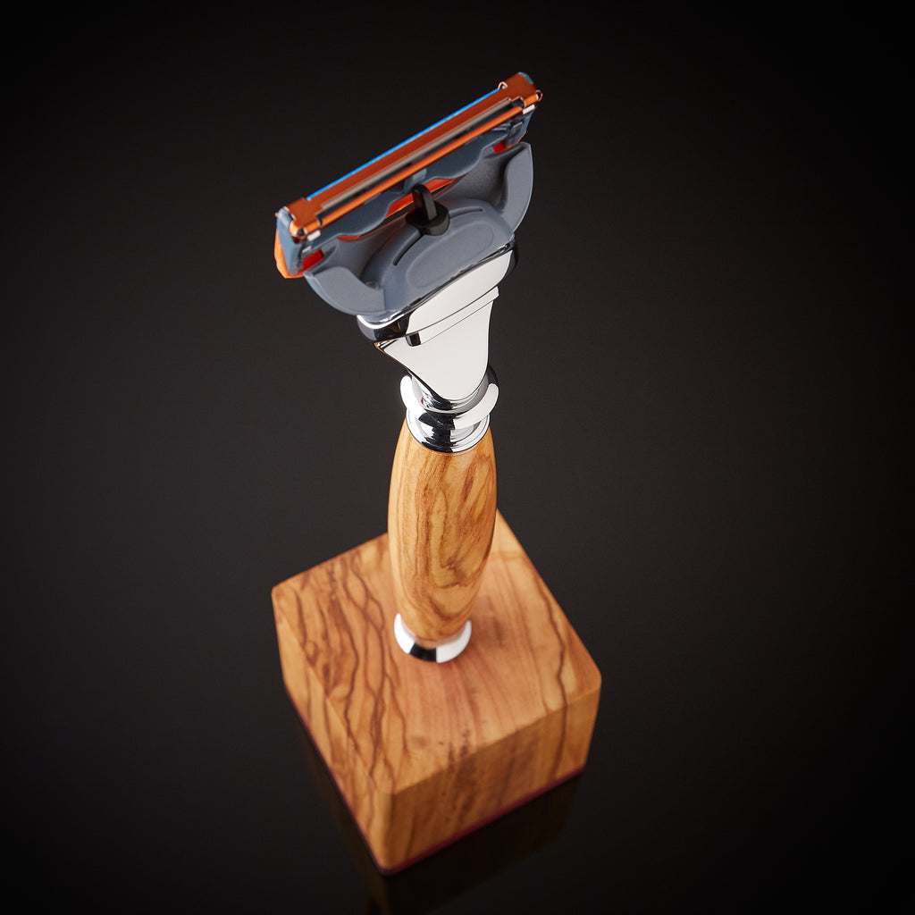 Wood razors for Gillette Fusion