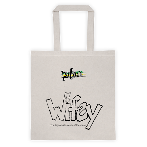Wifey 12 Ounce Cotton Canvas Tote