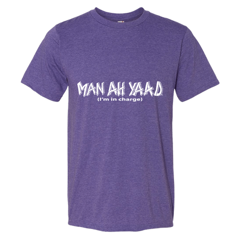 """Man a yaad"" Lightweight Fashion Short Sleeve T-Shirt"