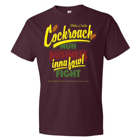 Cockroach nuh business Premium Fitted Short Sleeve Crew