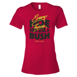 Every hoe av dem stik a bush Ringspun Fashion Fit T-Shirt
