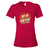 Mi ole but mi nuh cold Ringspun Fashion Fit T-Shirt