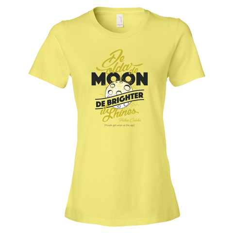 De olda de moon Ringspun Fashion Fit T-Shirt