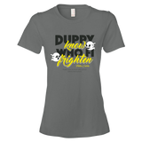 Duppy know who fi frighten Ringspun Fashion Fit T-Shirt