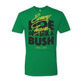 Every hoe av dem stik a bush Premium Fitted Short Sleeve Crew
