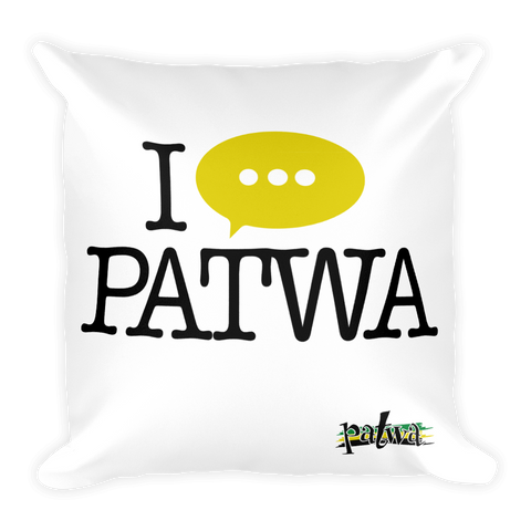 Patwa Stuffed Pillow Case