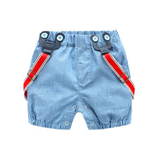 Load image into Gallery viewer, Summer Baby Boy Romper Clothes Set