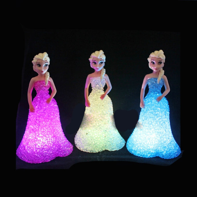 Princess Elsa LED Figurine Lamp
