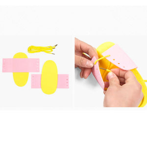 Non woven Shoelace Learning Toy