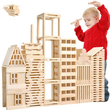 Load image into Gallery viewer, Wooden Building Blocks Toy For Children