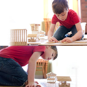 Wooden Building Blocks Toy For Children