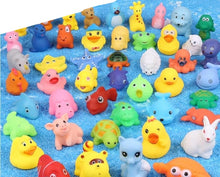 Load image into Gallery viewer, 10Pcs/Set Soft Rubber Float Sound Bath Toys
