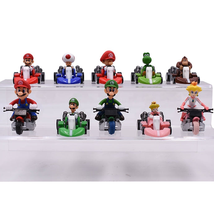 Kart Pull Back PVC Car Kids Toys