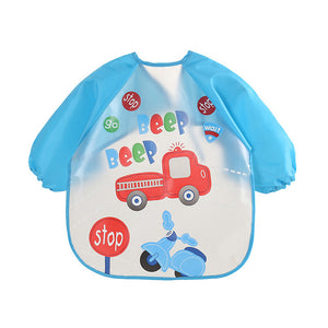 Waterproof Silicone Baby Feeding Bib Burp Cloth